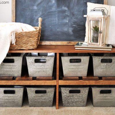 DIY Farmhouse Bench Tutorial