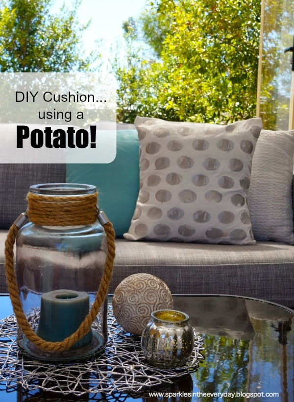 2 DIY Cushion..using a Potato! 600x