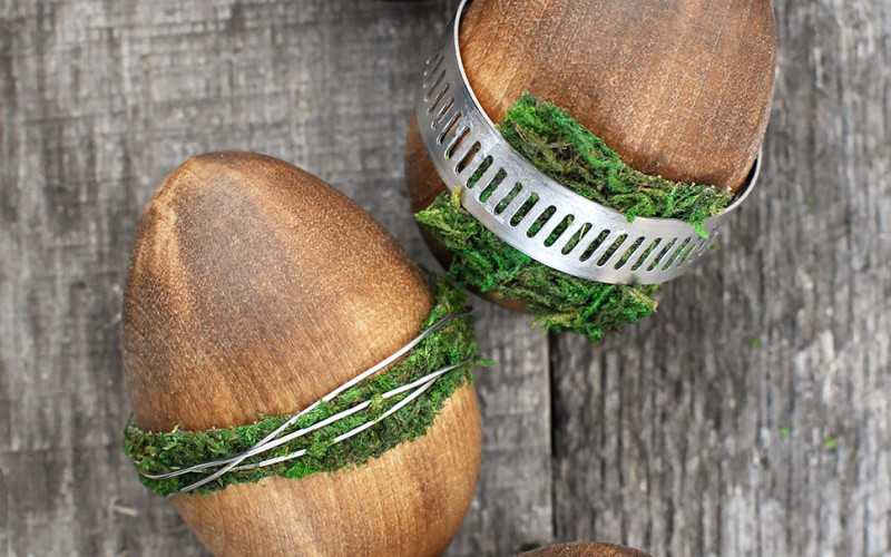 Wooden Rustic Industrial Easter Egg Tutorial