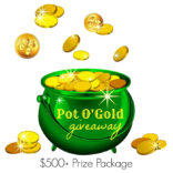 Pot O' Gold Giveaway | $500+ Value