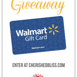 April Walmart Gift Card Giveaway