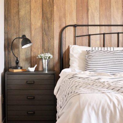 Rustic Industrial Master Bedroom Reveal