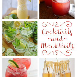 Relax a little with one of these cocktails or mocktails