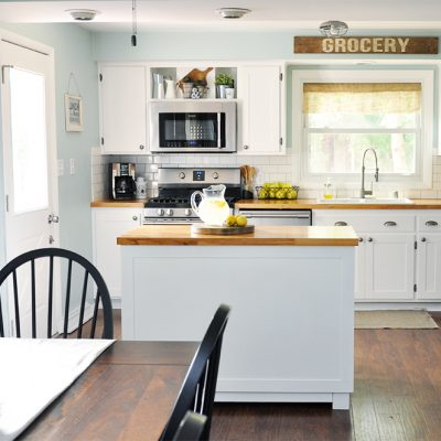 Industrial Farmhouse Kitchen