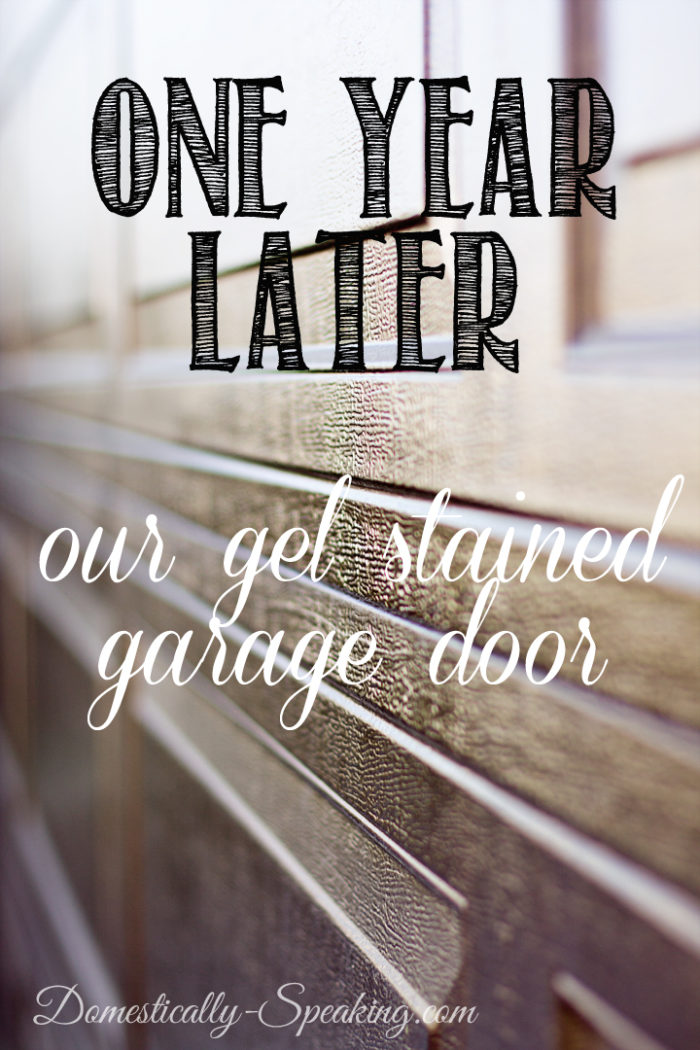 One-Year-Later-Our-Gel-Stained-Garage-Door