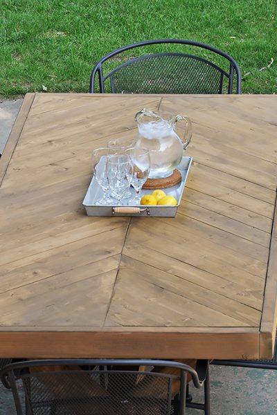 DIY Outdoor Table | Free Plans