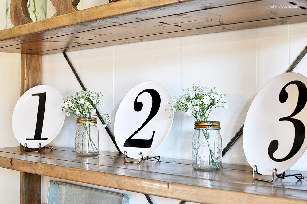 Bookshelf Decor dining room bookshelf decor - cherished bliss