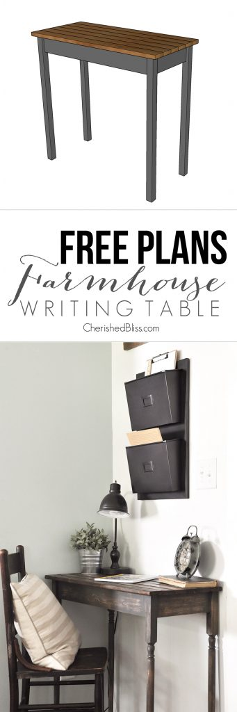 writing desk plans free Free diy desk plans that are perfect for the beginner includes modern, traditional, rustic, and farmhouse styles.