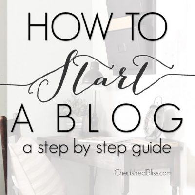 How to Start a Blog | A Step by Step Guide