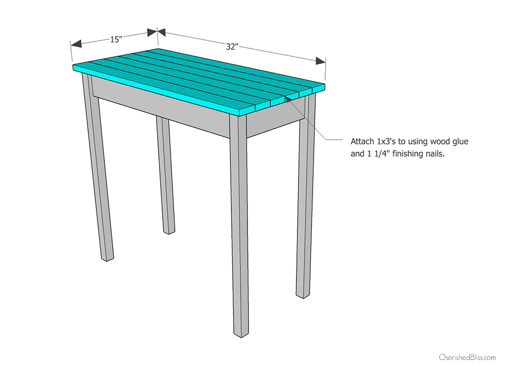 Step 3 attach top cherished bliss for Email table design