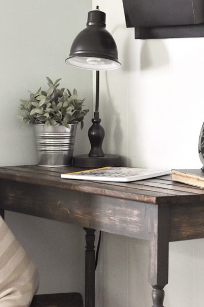 DIY Farmhouse Writing Table | Free Plans