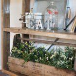 Rolling DIY Bookshelf | Restoration Hardware Knock Off