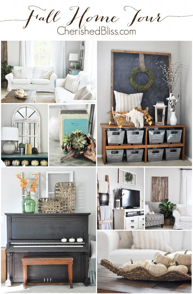 Fall Home Tour 2015 Cherished Bliss