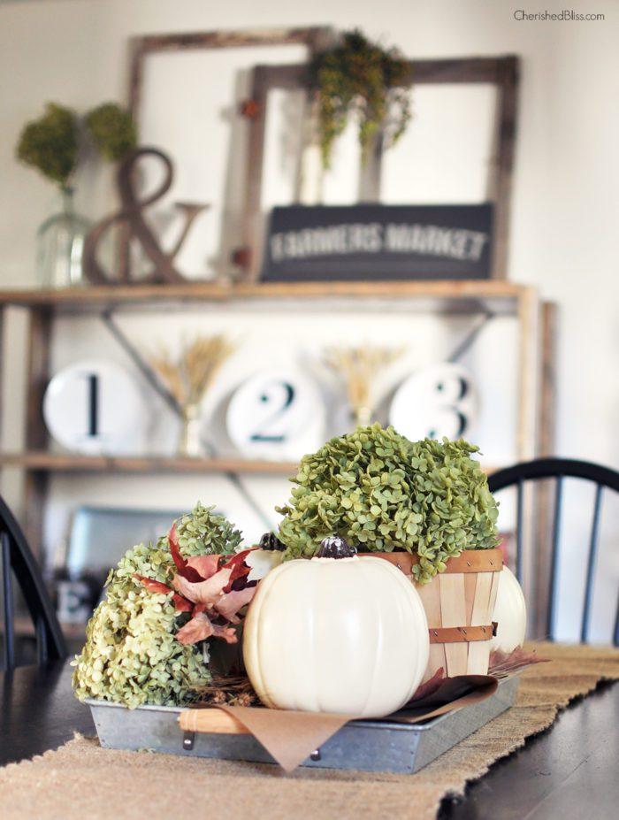 Take a stroll through this beautiful Farmhouse Fall Home Tour