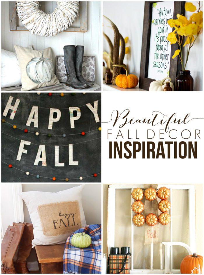 Beautiful Fall Decor Inspiration