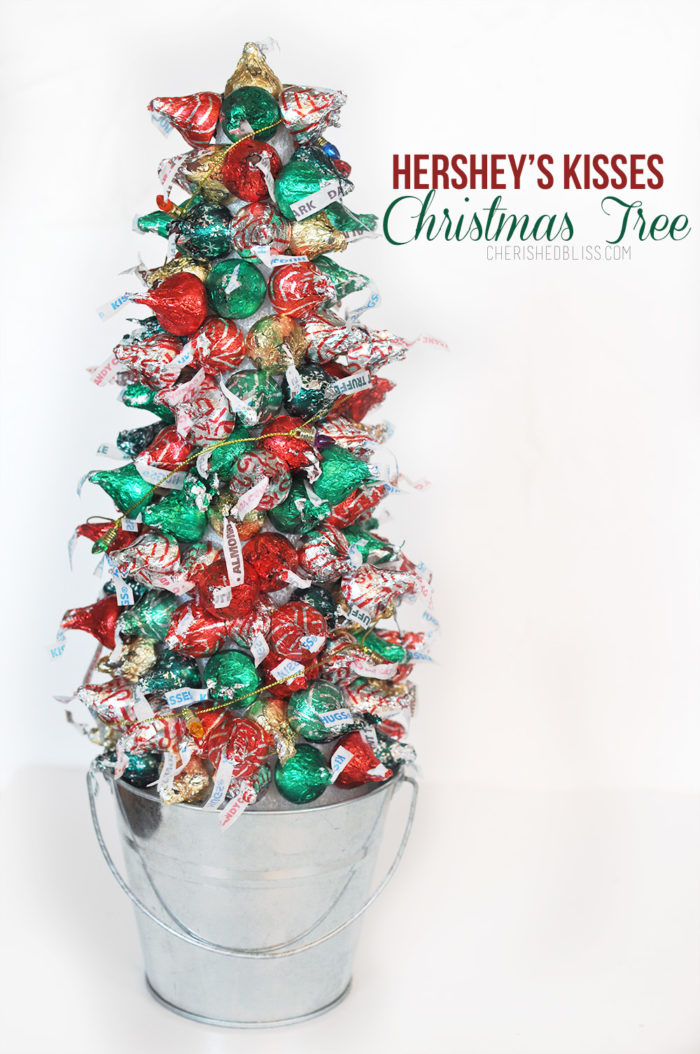 create beautiful memories with your family by making a simple hersheys kisses christmas tree
