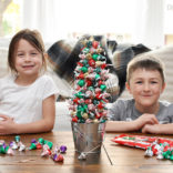 Hershey's Kisses Christmas Tree Tutorial