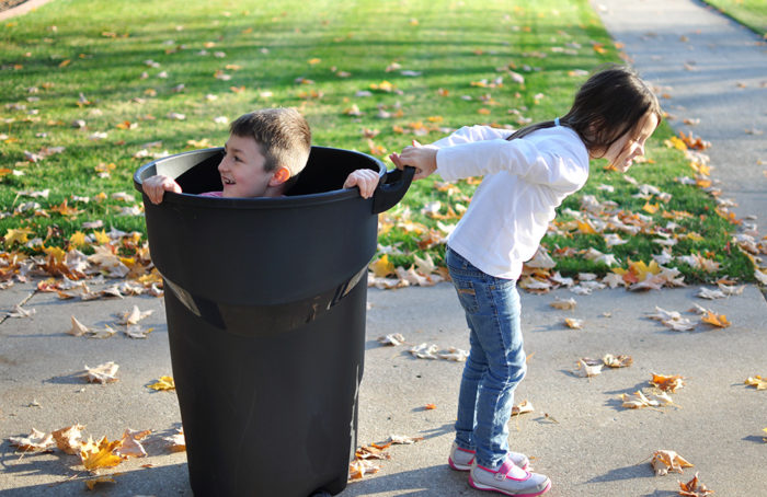 Why It's Important to Teach Kids to Rake Leaves