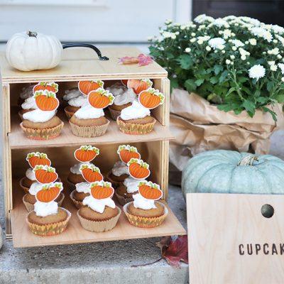 DIY Cupcake Box Carrier Tutorial | Free Plans + Giveaway