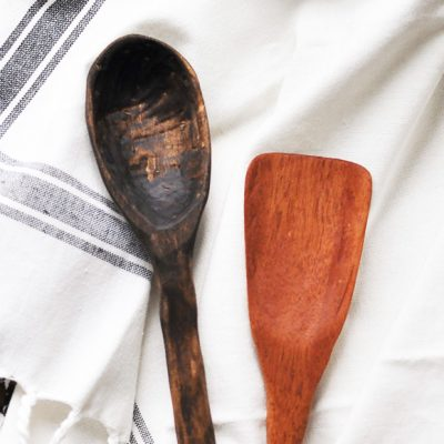 How to Carve Wooden Spoons + a giveaway