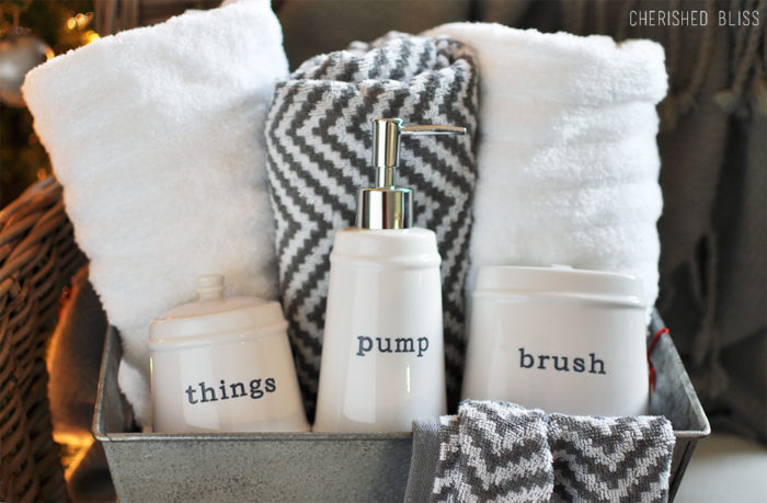 Create this simple, easy, yet thoughtful Last Minute Christmas Gift Idea with just a few items. No complicated skills required, just shopping!
