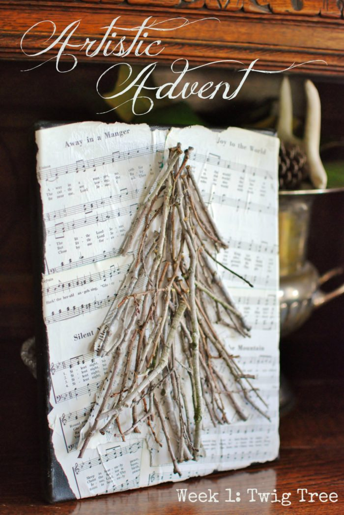 Christmas decor should inspire warmth, cuddling, and family gathering. This Artistic Advent Tree Twig Craft by Hunt and Host will keep your home cute and cozy this season!