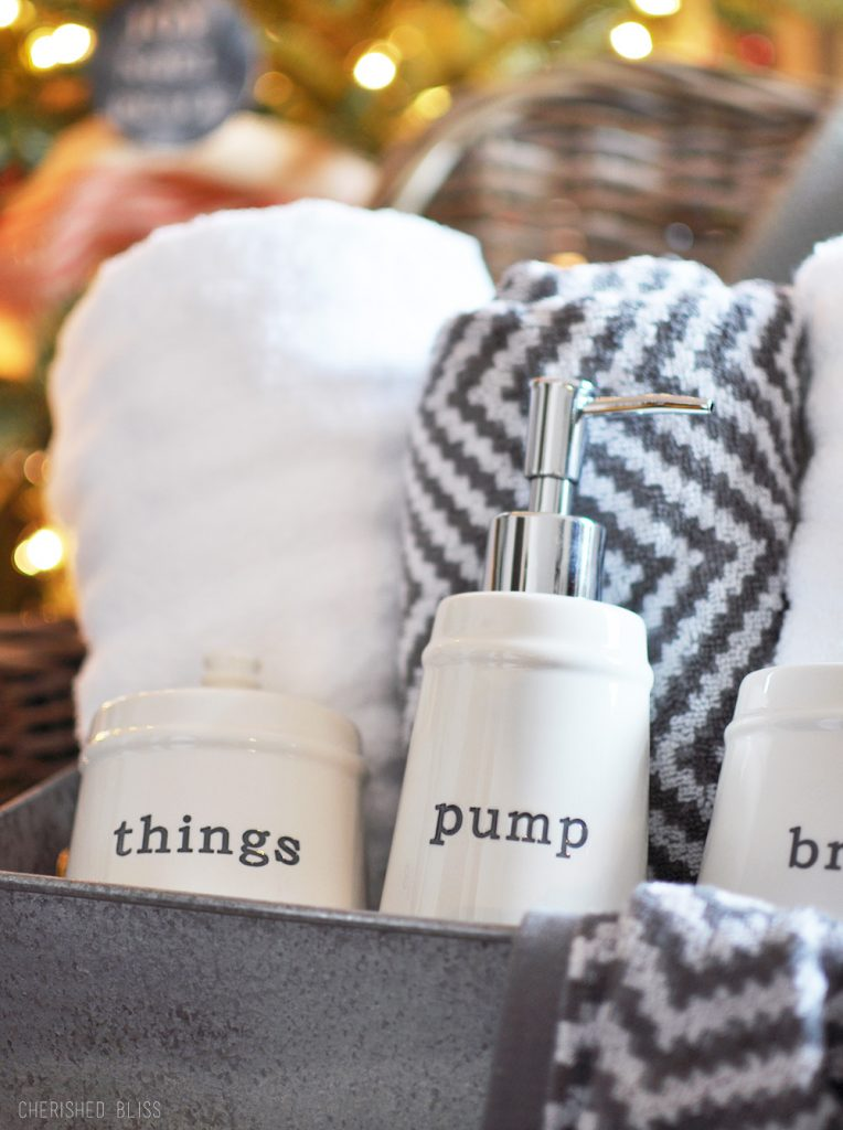 Bathroom Gift Last Minute Christmas Gift Idea 100 Giveaway Cherished Bliss