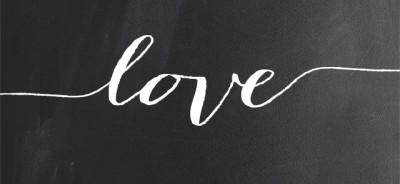 Enjoy these free Typography Valentines Day Printables.