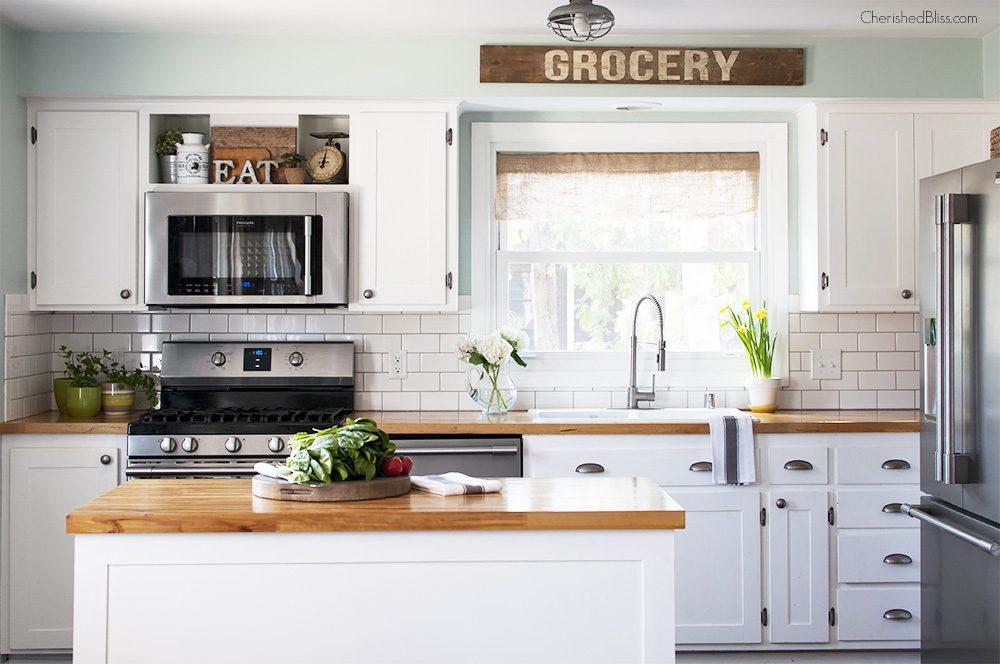 Spring Home Tour | Kitchen Decor