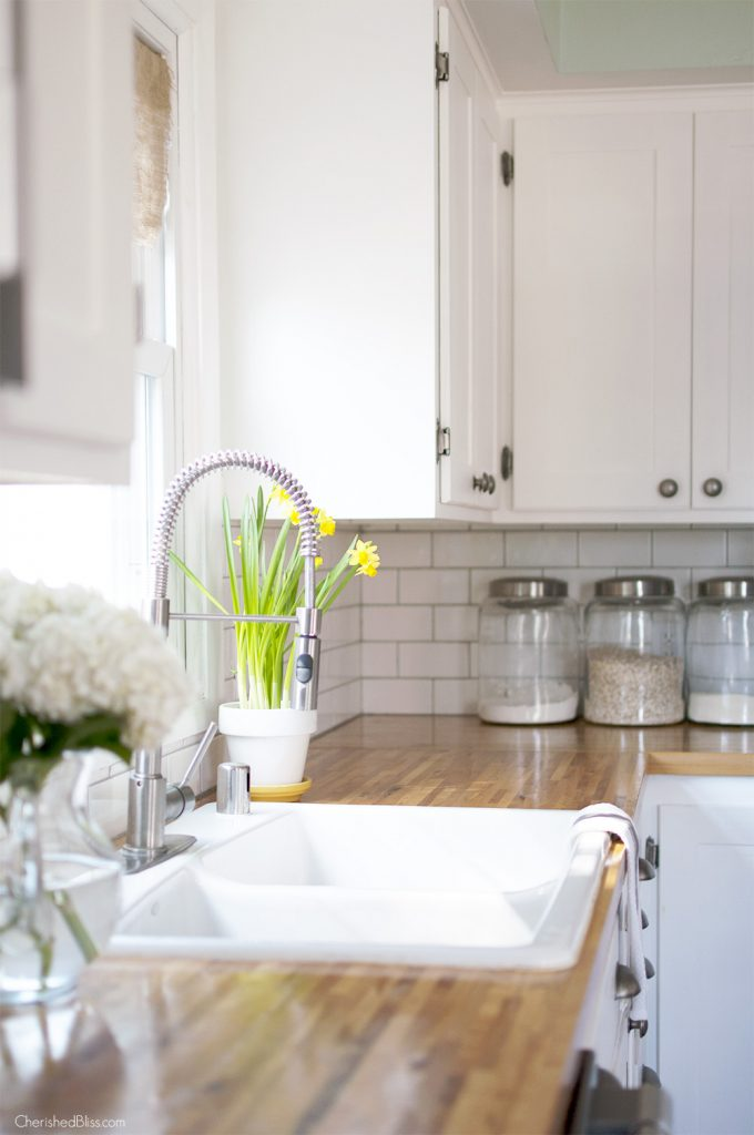 Spring home tour kitchen decor for Fresh home