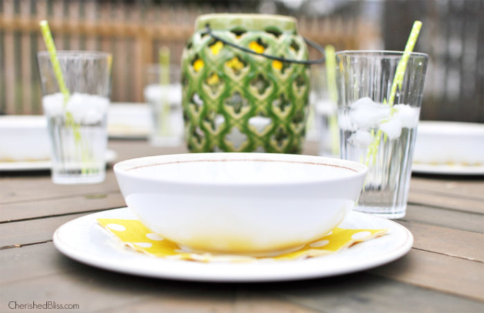 Throw a simple outdoor party with these quick tips for Outdoor Entertaining to keep your stress level low and fun-having high!