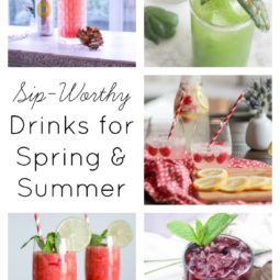 Spring & Summer Drink Recipes | Link Party