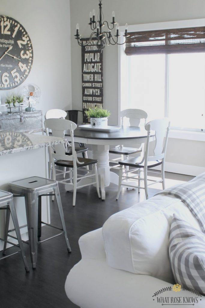 industrial farmhouse home decor maison de pax. Black Bedroom Furniture Sets. Home Design Ideas