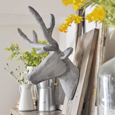 Concrete Deer Head Taxidermy