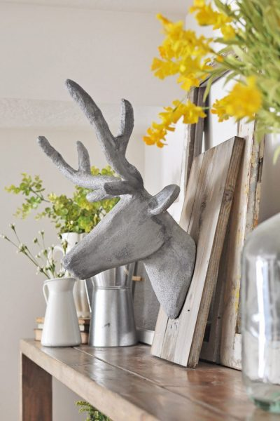 With this Concrete Deer Head Taxidermy tutorial you will learn how to make something look like concrete without using concrete!