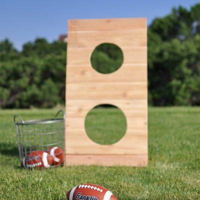 DIY Football Toss Outdoor Game | DIY Workshop