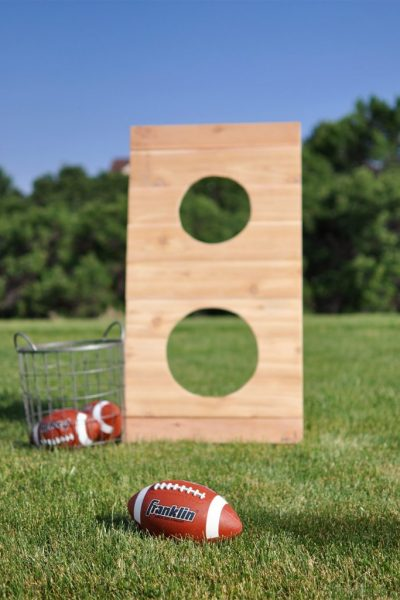 DIY Football Toss Outdoor Game | DIY Workshop