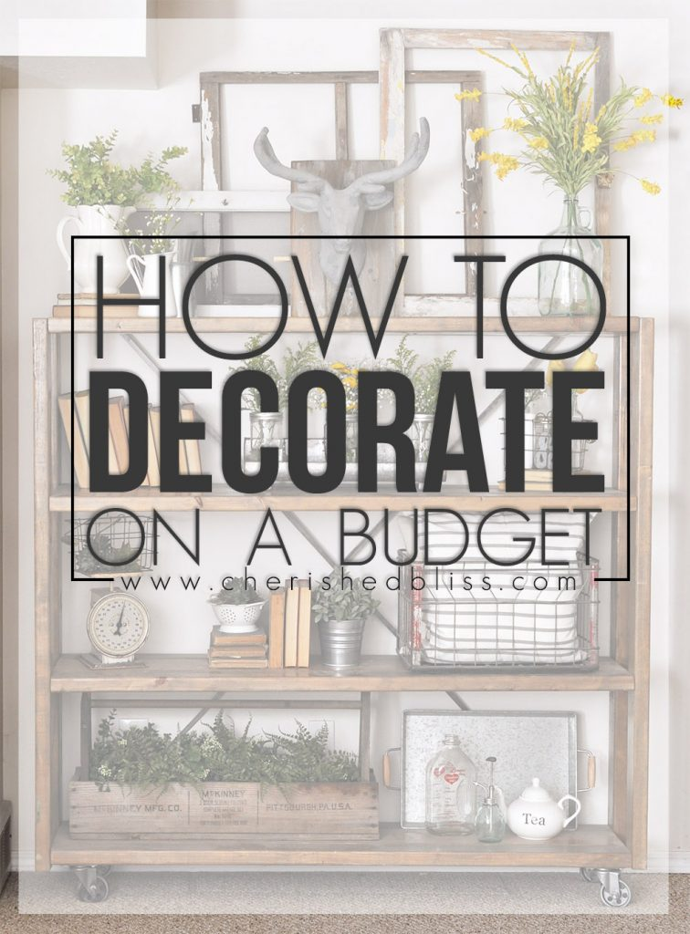 Learn how to Decorate on a Budget with these simple tips!