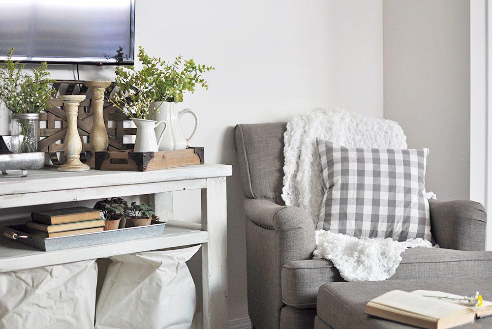 Popular Industrial Farmhouse Living Room Decor