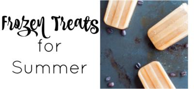 Frozen Summer Treats to beat the summer heat!