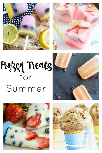 Frozen Summer Treats to beat the summer heat!