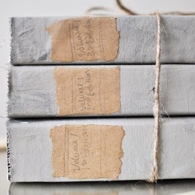 DIY Restoration Hardware Book Set | Knock Off