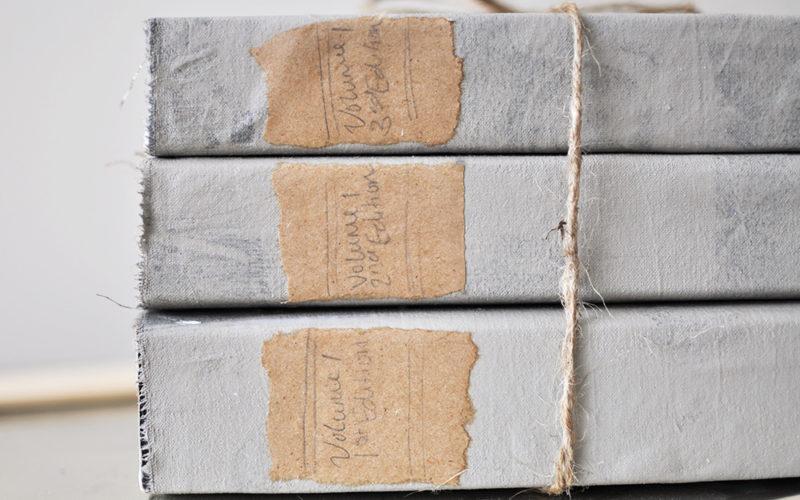 DIY Restoration Hardware Book Set | Knock Off