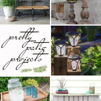 Pretty Patio Projects | Link Party
