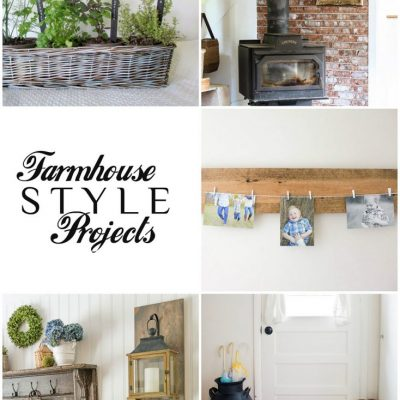 Farmhouse Style Projects | Link party