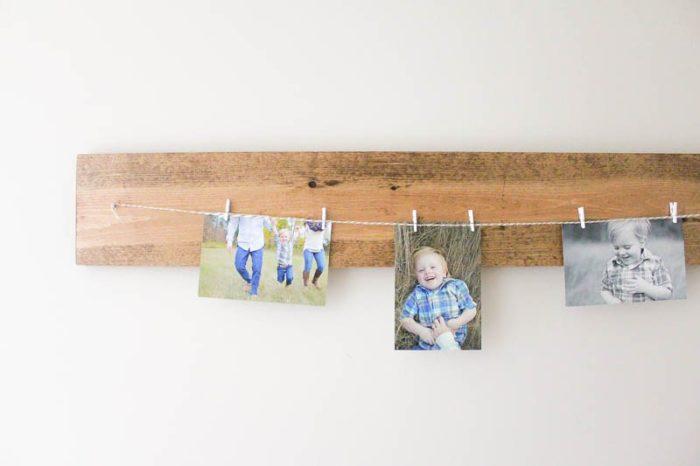 Hallway-DIY-Photo-Display-9