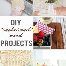 DIY Reclaimed Wood Projects | Link Party