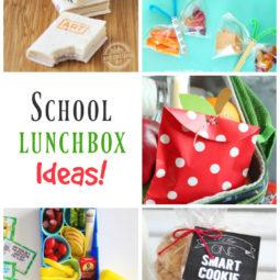 School Lunchbox Ideas | Link party