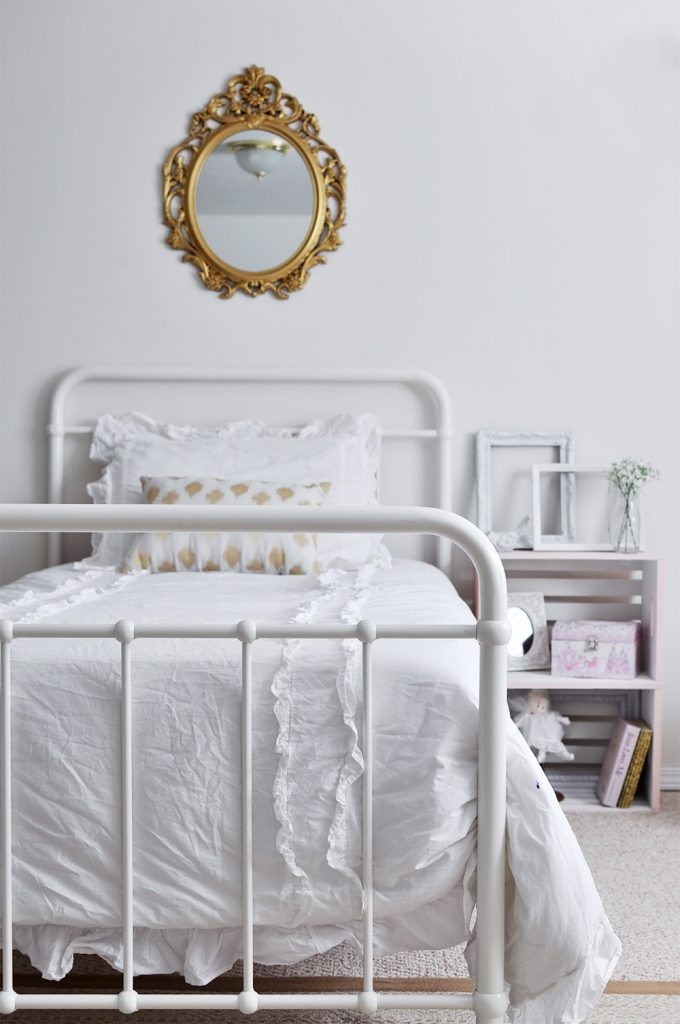 Feminine Vintage Chic Bedroom for a Big Girl - Cherished Bliss