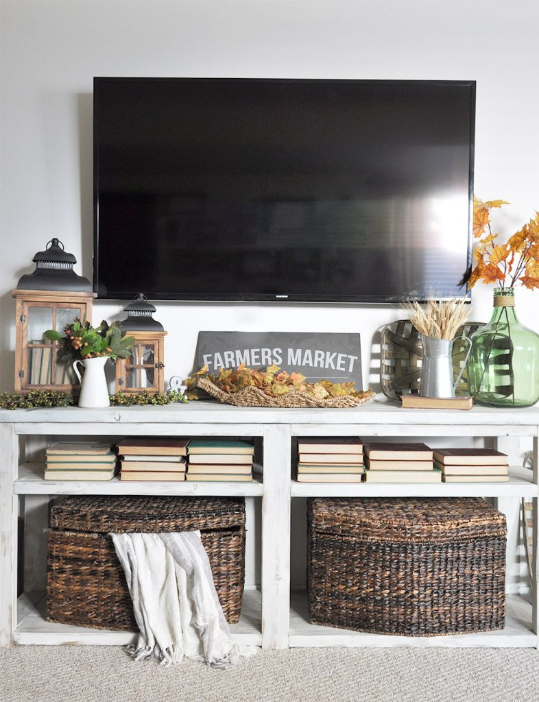 Cozy fall home tour 2016 cherished bliss for Home decorations next